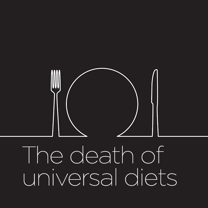 Universal Dieting Tips Are a Nutritional Dinosaur, New Research Says