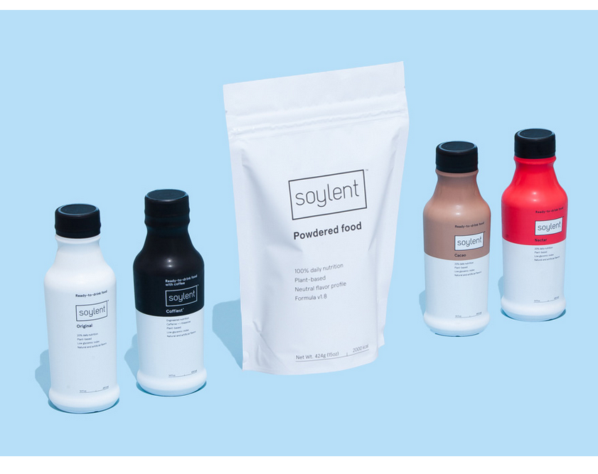 soylent meal replacement