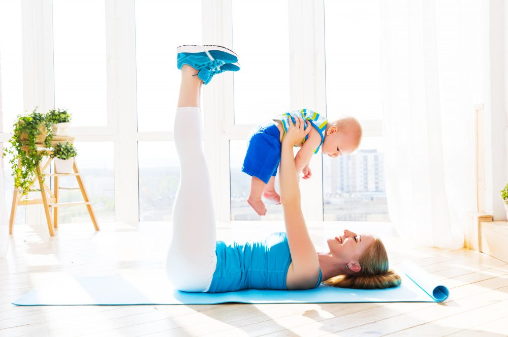 post pregnancy workout