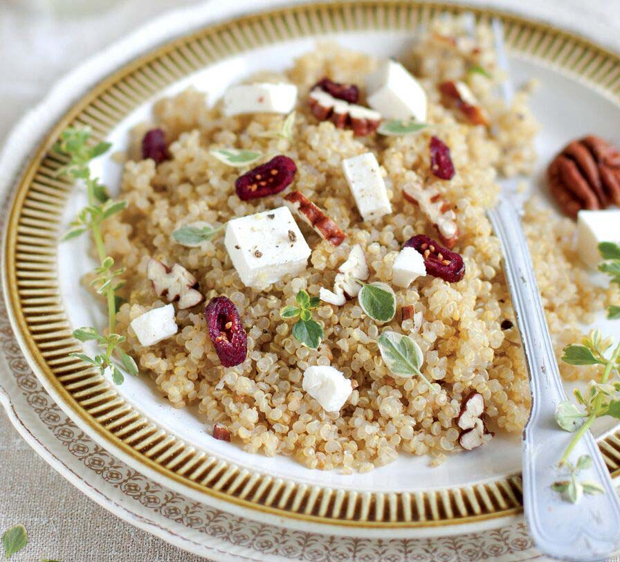 Quinoa and Pecan Salad